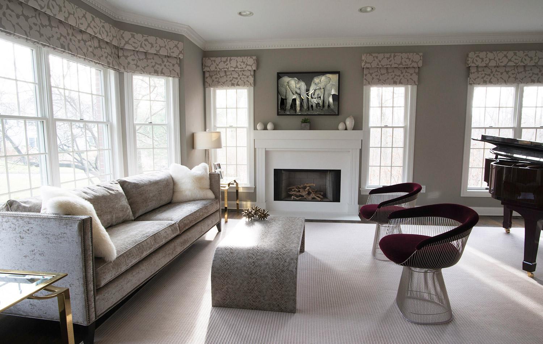 Westchester residence interior design for Interior decorator westchester ny